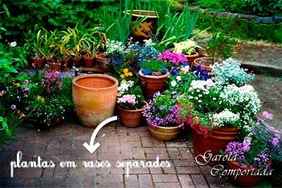 decoracao-casas-jardins-pequenos-em-vasos-plantas