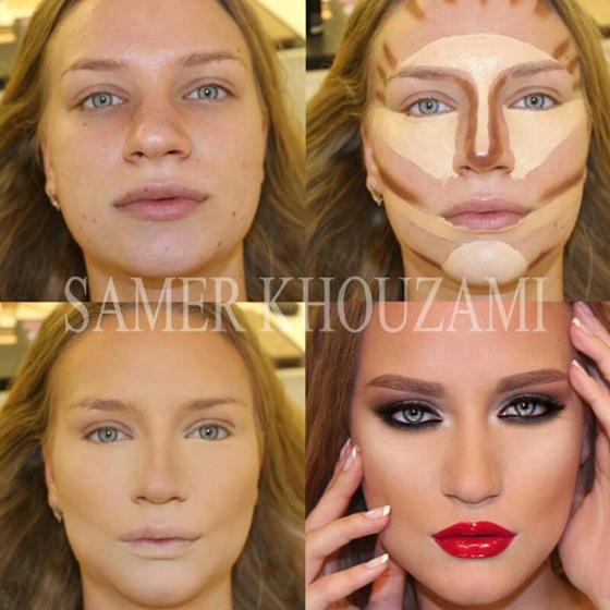 como-fazer-contorno-rosto-maquiagem